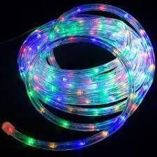 Гірлянда Дюралайт LED різнобарвна 10 метрів з контролером