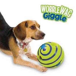 Игрушка для собак   Хихикающий мяч для собак   Wobble Wag Giggle оптом