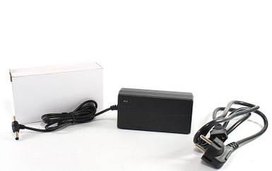 Зарядный блок питания 12V 5A Пластик + кабель (разъём 5.5*2.5mm) оптом