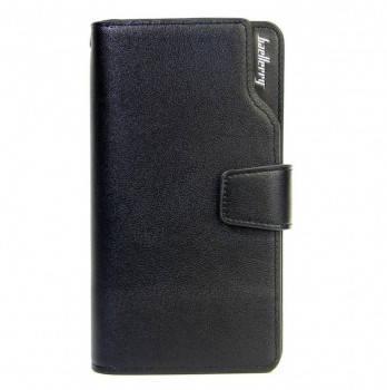 """Мужское портмоне-клатч кошелек """"Baellerry Business"""" Черный"""