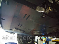 Защита двигателя и КПП на Митсубиси Кольт 6 (Mitsubishi Colt VI) 2002-2012 г (металлическая) 2.5
