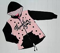Утепленная пайта для девочки Розовая на рост 134 -164 см (СН 3760) р. 146 см.