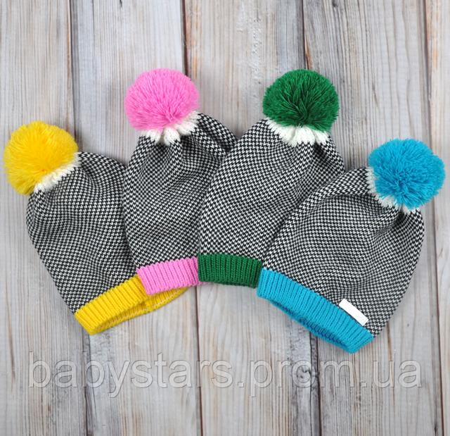 Демисезонные шапочки для детей