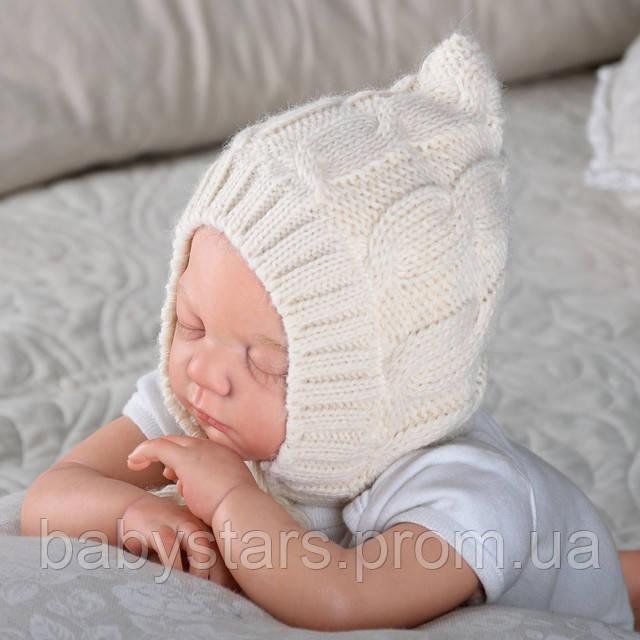 Детские шапочки для новорожденных фото 1