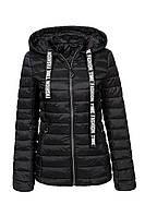 Оригинальная Женская Куртка/Парка Glo-Story WMA-6495 Осенняя Black Черная