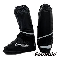 Fair Rain F-908A Rain Boots Black, L Мотобахилы дождевые (PVC, Черный, 31,5см), фото 1