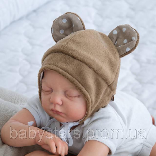 Детские шапочки для новорожденных фото 2