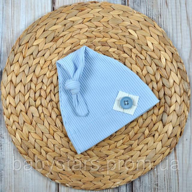 Детские шапочки для новорожденных фото 6