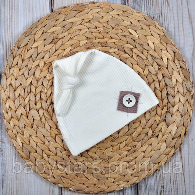 Детские шапочки для новорожденных фото 5
