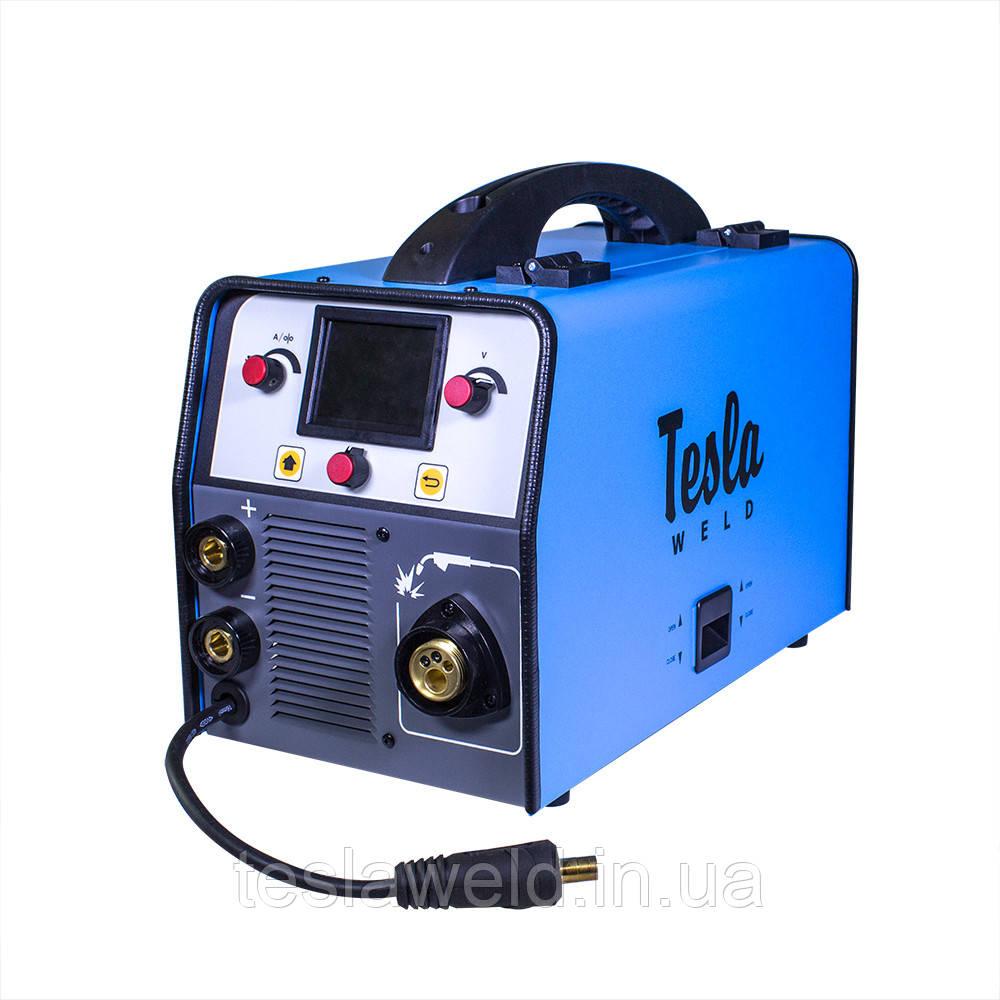 Сварка полуавтомат Tesla Weld MIG/MAG/FCAW/TIG/MMA 307 LCD