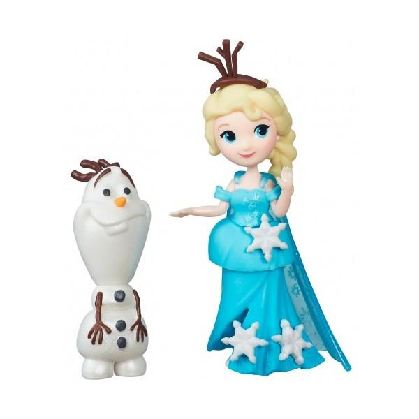 Кукла Эльза и Олаф  Холодное сердце  Маленькое королевство  Disney Fro