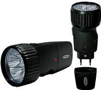 Фонарь аккумуляторный светодиодный, Torch 528/5, Диодный ручной фонарь, Фонарик карманный от сети, фото 1