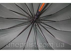 Зонт ТРОСТЬ на 16 спиц, синий / Feeling Rain, фото 3