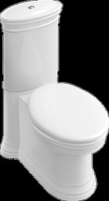AMADEA унитаз напольный, горизонт выпуск, 36,5*70cм, белый альпин CeramicPlus