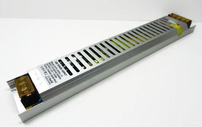 Блок питания 12В; 16,66А; 200 Вт  ультратонкий IP20 Код.59367