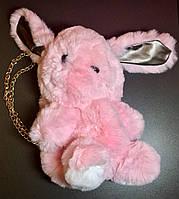 Меховая Сумка Рюкзак Кролик Милый Пушистый Кролик