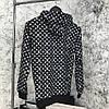 Худи Supreme (Луи витон x Суприм), черное - Фото