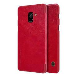 Чохол-книжка Samsung Galaxy A730 A8+ 2018 Nillkin Qin Series Червоний
