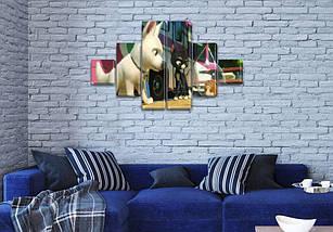 Картины модульные для детей, 75x130 см, (20x20-2/45х20-2/75x20-2), фото 3