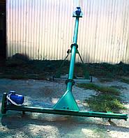Шнековый погрузчик в трубе 108мм*8м с подборщиком