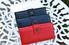 Кошелек женский брендовый  Givenchy кожаный бордовый, фото 5