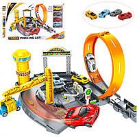 Игровой набор SUNROZ Track Parking Lot детский автомобильный трек (SUN2233), фото 1