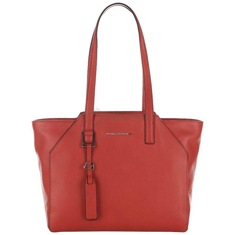 a8be97e08981 Женская сумка Piquadro MUSE Red с отдел. д/ноутбука 11