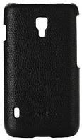 Чехол-накладка Melkco Leather Snap Cover Black for LG Optimus L7 II Dual P715 (LGP715LOLT1BKLC)