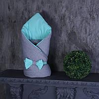 Зимний конверт-одеяло Мini, ментол