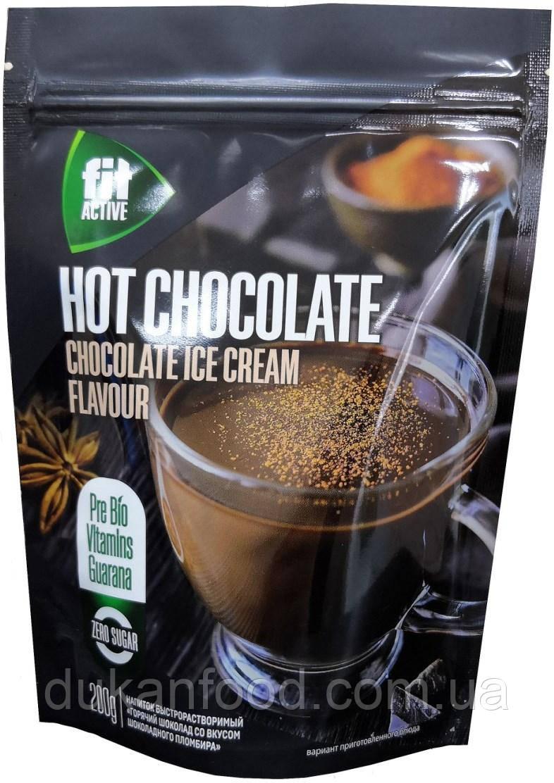 Горячий шоколад ФитАктив со вкусом шоколадного пломбира