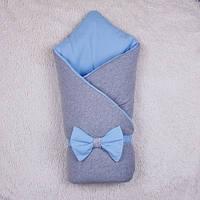 Зимний конверт-одеяло Мini, голубой, фото 1