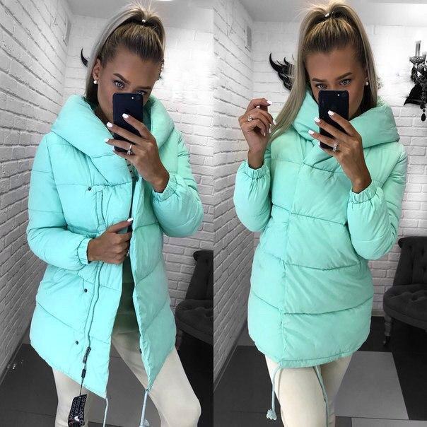 d64344f6991 Супер теплое зимнее пальто-куртка дутик матовая плащевка - Стильная женская  одежда оптом