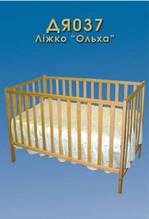 Детская кроватка Ольха обычная