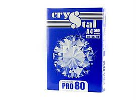 Бумага офисная Crystal, А4, 80г/м2, 500л.