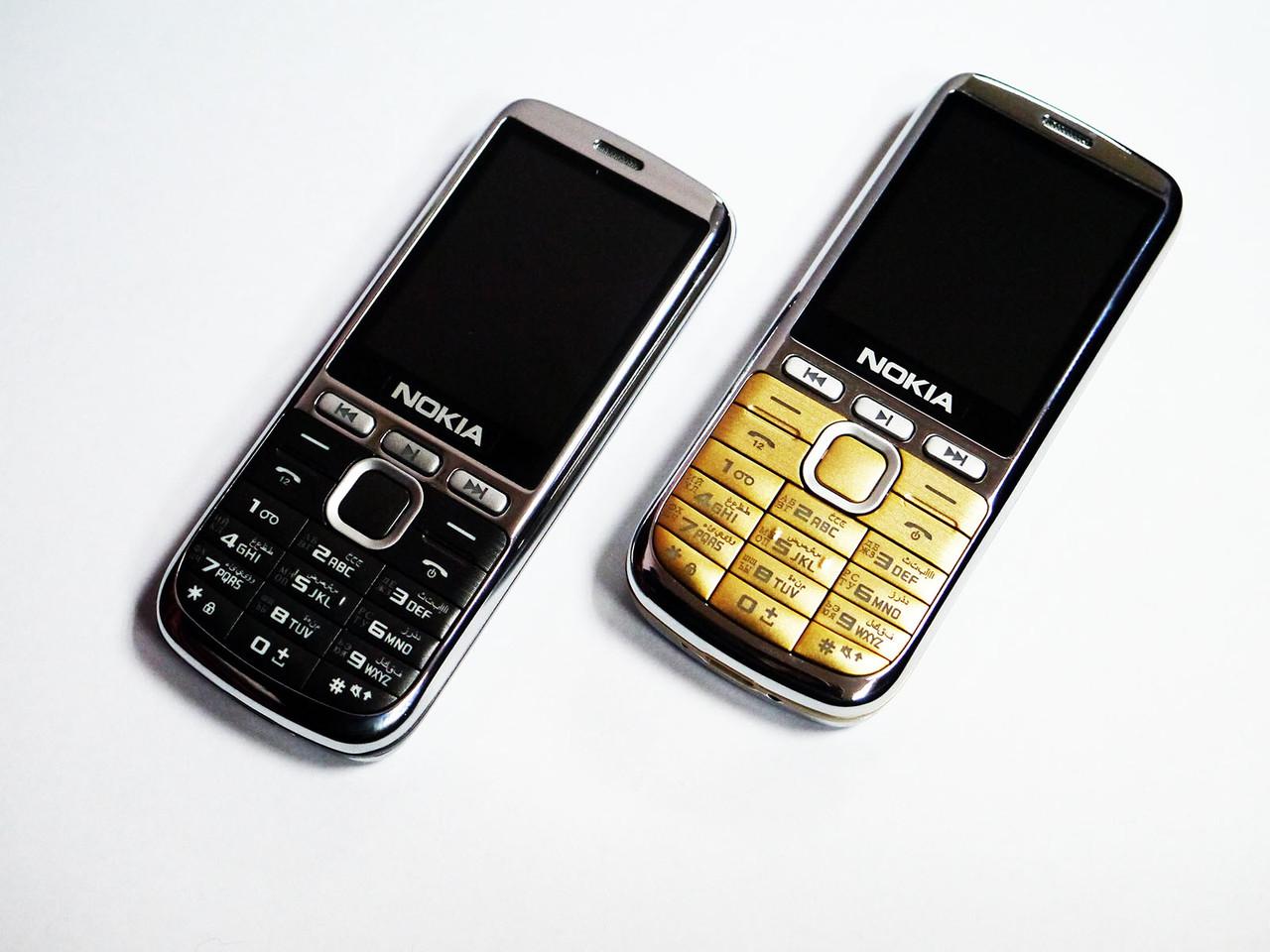 """Телефон Nokia L200 - 2sim - 2,2"""" - Fm - Bt - Camera - металлический корпус"""