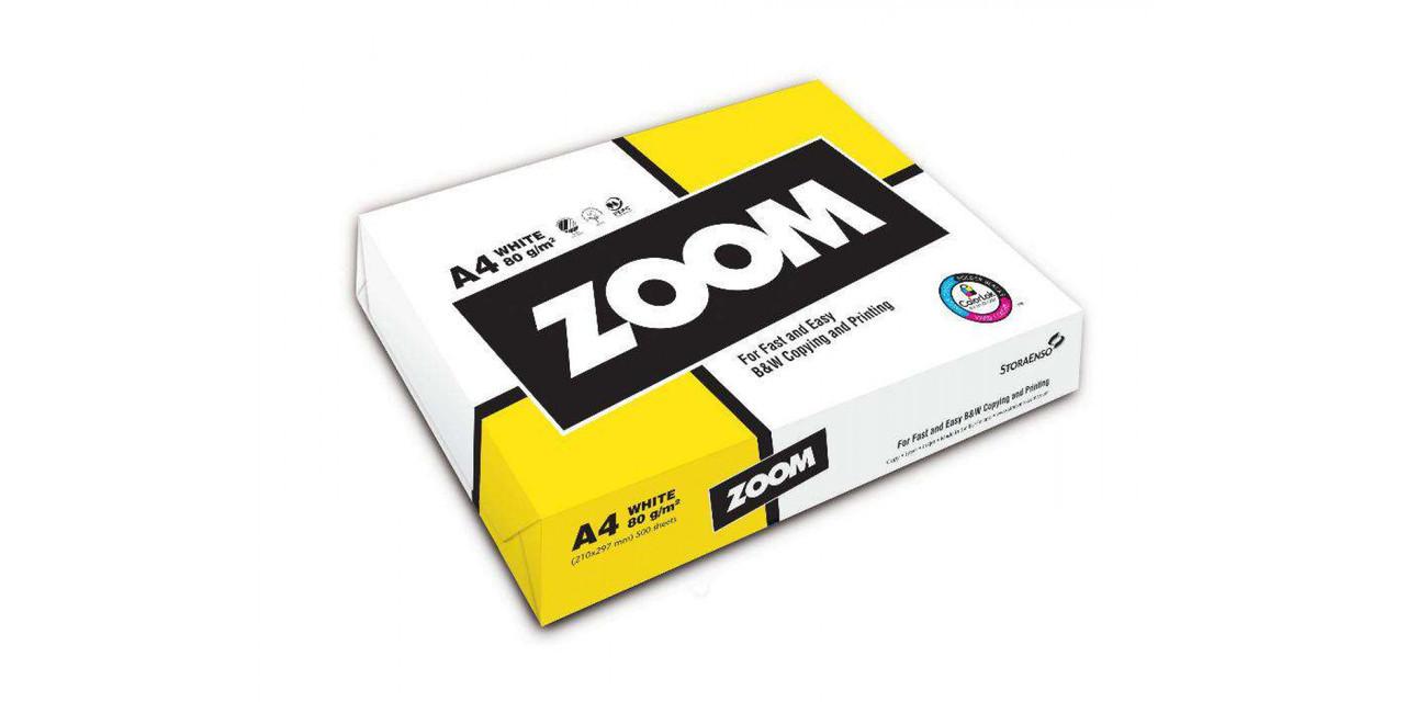 "Бумага офисная ""ZOOM"" А-4  80гр. 500л."