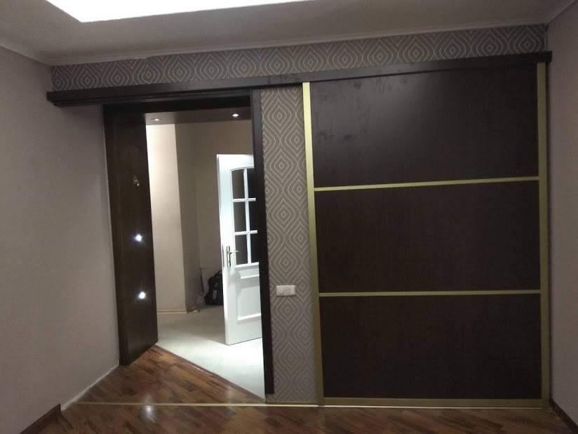 Раздвижные двери в системе Золото. Наполнение ДСП