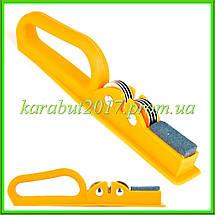 Точилка для ножей с пластиковой цветной ручкой L19,5см, фото 3