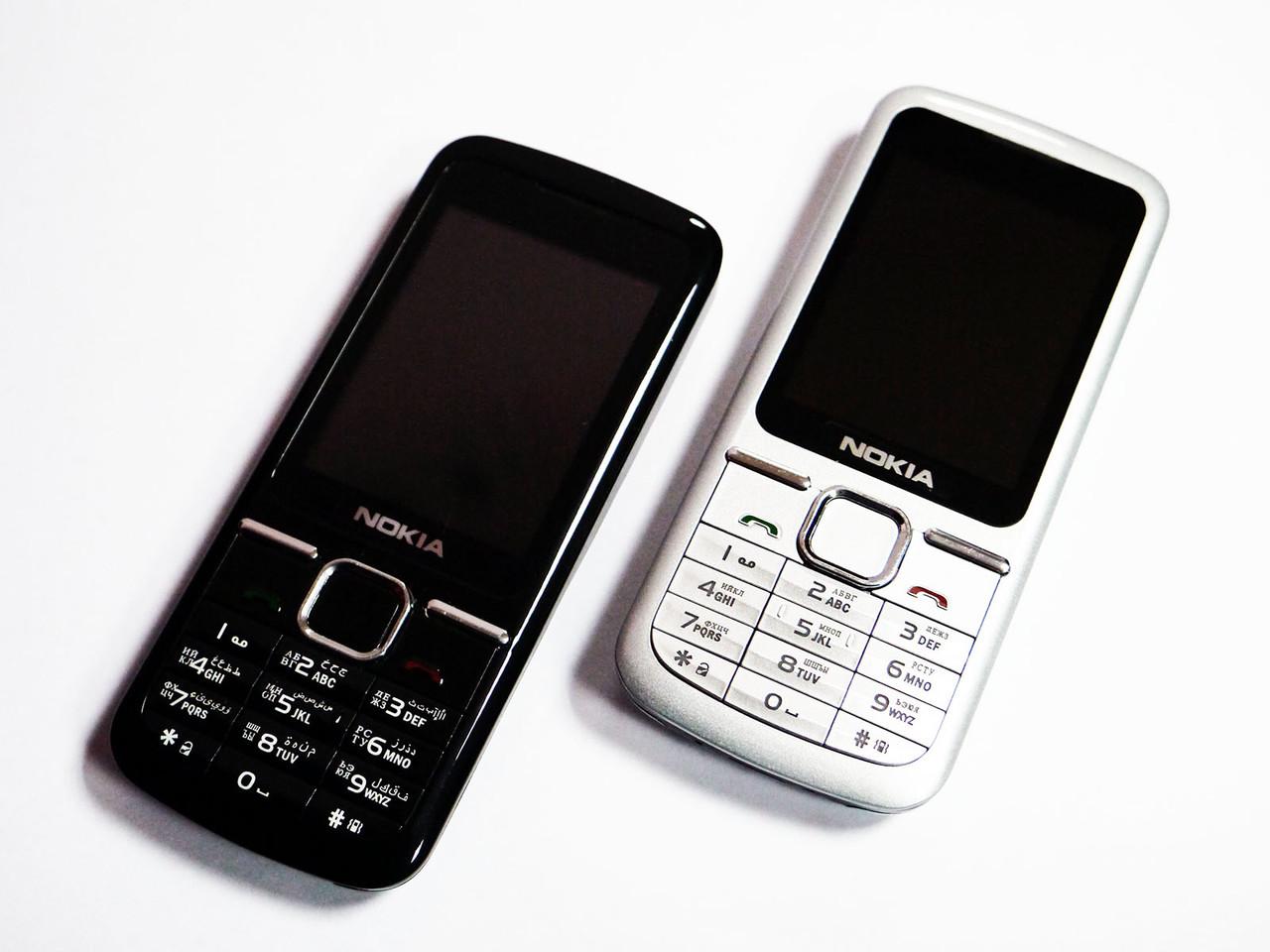 """Телефон Nokia L600 - 2 sim - 2,2"""" - Fm - Bt - Camera - металлический корпус"""