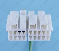 Разъем электрический 18-и контактный (37-16) б/у