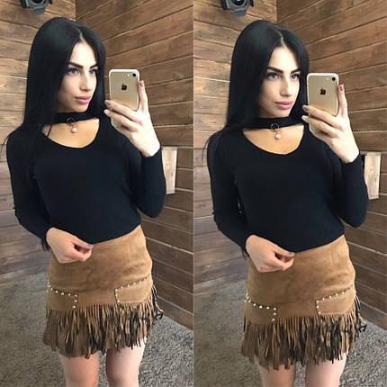 b285e700fd1 Модная короткая юбка на замше - недорого в Украине