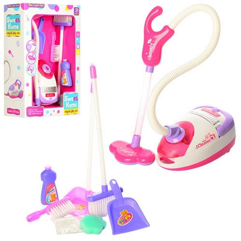 Детский игрушечный пылесос