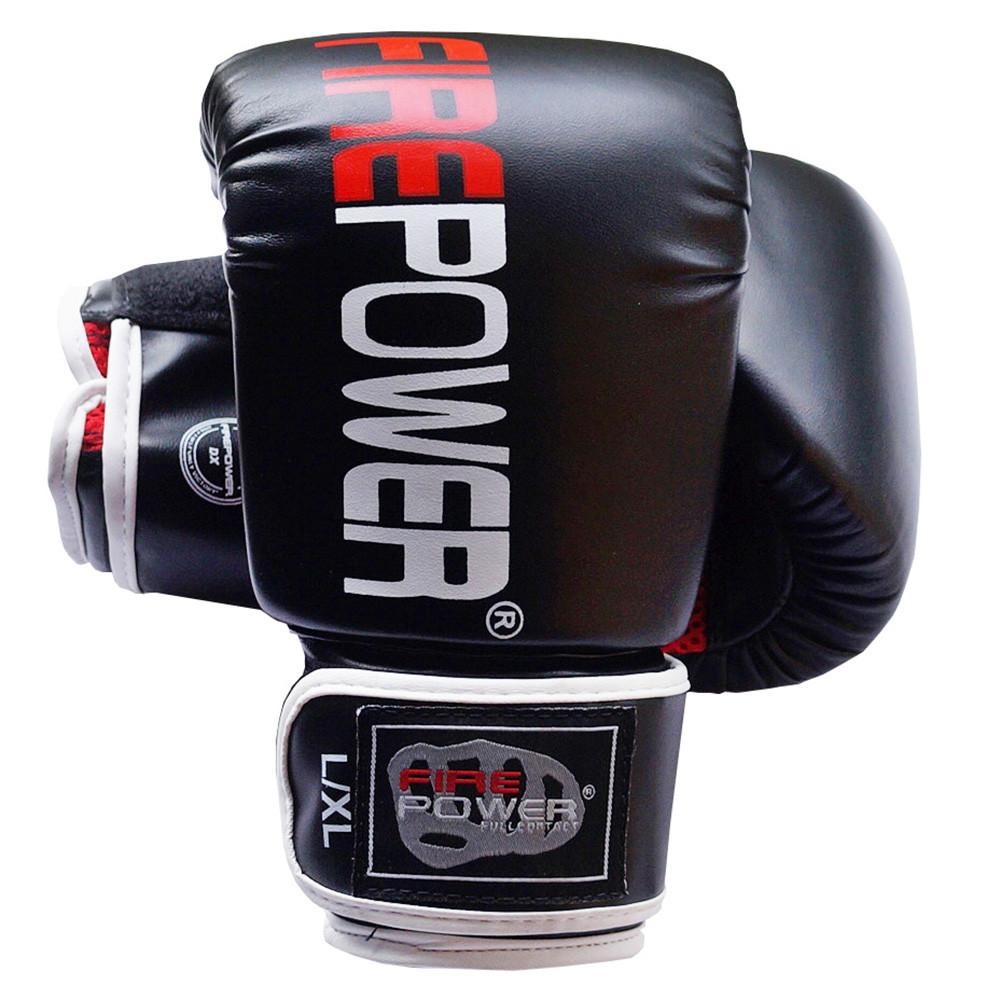 Снарядные перчатки Firepower FPTGA1 Черные с красным