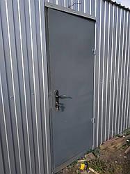 Металлические двери 2000х800 (собственное производство)
