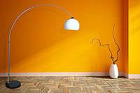 Дизайнерская лампа на пол MAXXI Lounge Deal ECO Наличие НАЛОЖКА Польша Белая