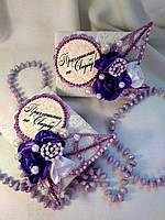 Приглашения на свадьбу ручной работы текстильные, пригласительные на свадьбу