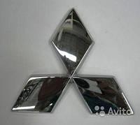 Эмблема значек  Mitsubishi Lancer 9 10 Asx размер 95*95 мм