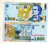 Румыния 1.000 лей 1998  состояние UNS