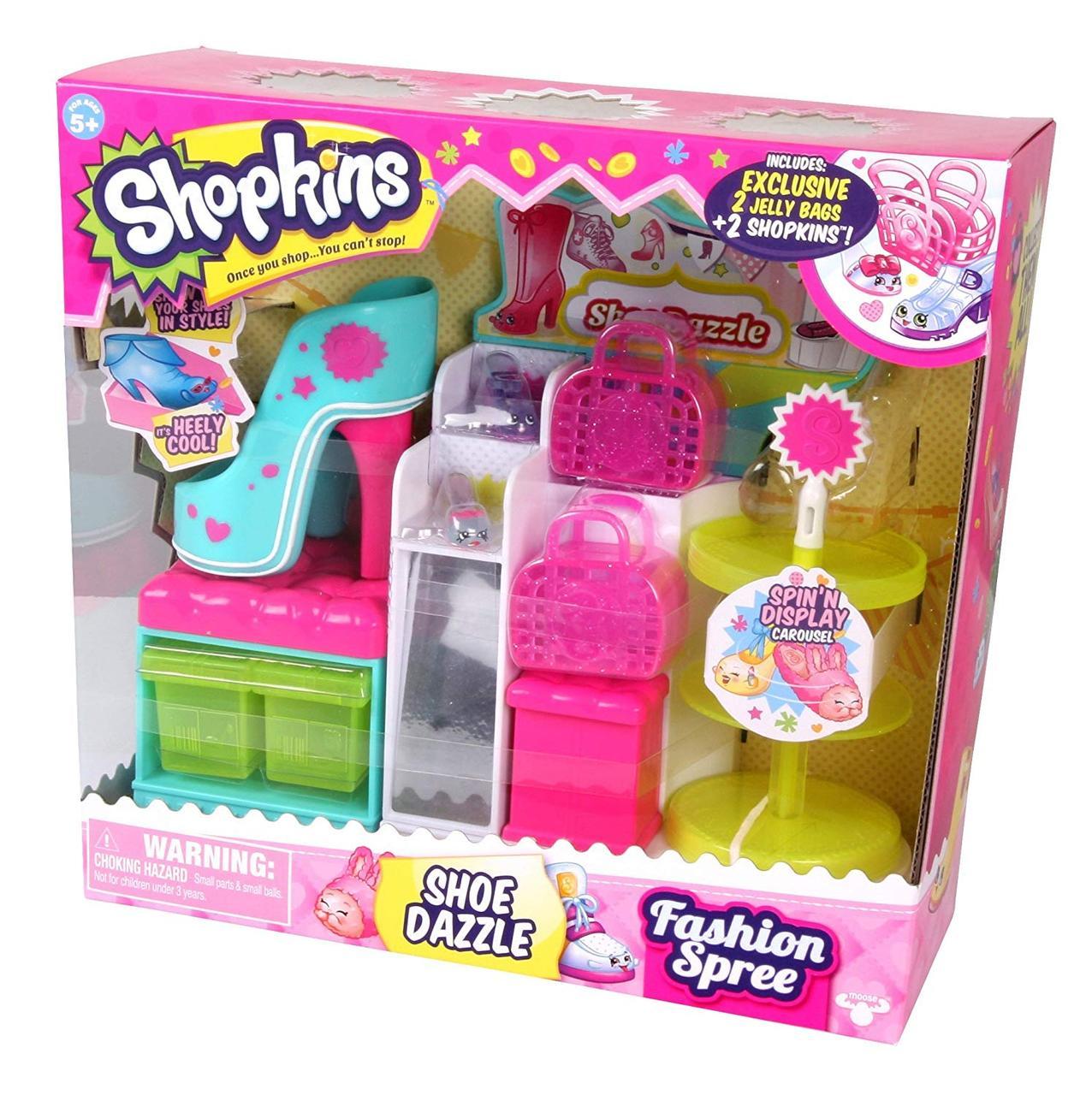 Купить Игровой набор Шопкинс Обувной бутик с аксессуарами ...
