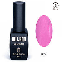 Гель-лак Milano 8 мл, № 032